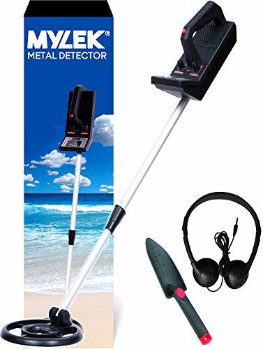 MYLEK Lightweight Metal Detector Kit – Detects all Gold, Silver, Ferrous...