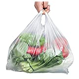 """100PCS 8.85""""X15.7""""( 22.5X40cm)Clear Vest Plastic T-shirt Carrier Bags For Retail Shopping Supermarket Household Food Storage Take-away Packaging Bag"""