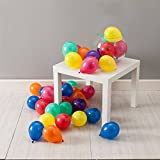 GrandShop 50302 Toy Balloons 5' Inch Small Size Multicolor For Party, Play School, Summer Camp Decoration(Pack of 100 pcs)