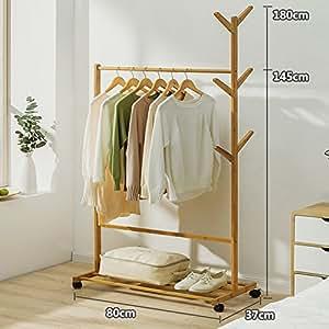 Perchero de madera maciza la ropa simple secado de rack de - Colgador de camisas ...