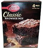 Betty Crocker Classic Brownie Mix 4 Pack Family Size 73.2 oz.