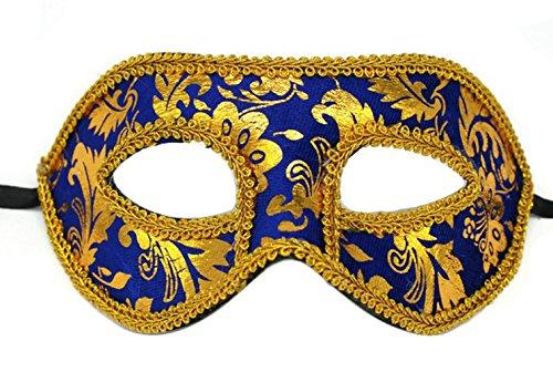 (Making up Men's Masquerade Christmas Halloween Ball Party Half Face Masks)