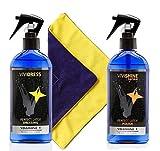 Vivishine Spray - Vividress w/Spray - Viviwipe Combo - for Latex Clothing