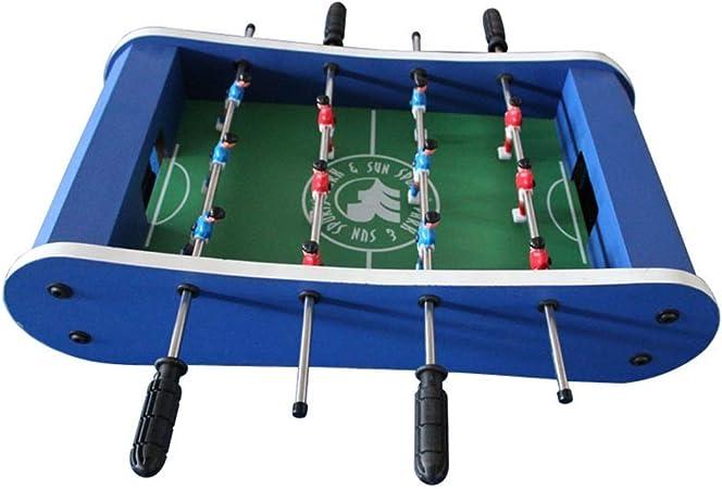 Pettneeds-TY Juego De Mesa W/Pool Billar Hockey Futbolín Y Tabla (Color : Azul, tamaño : 59x31x15cm): Amazon.es: Hogar