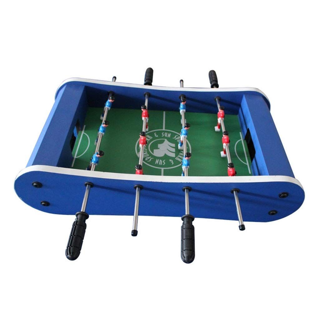 Game Table W/Pool Billiards Hockey Foosball and Table (Color : Blue, Size : 59x31x15cm) by Forgiven