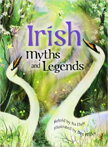 Irish Myths Legends Amazoncouk Ita Daly Bee Willey - Irish legends