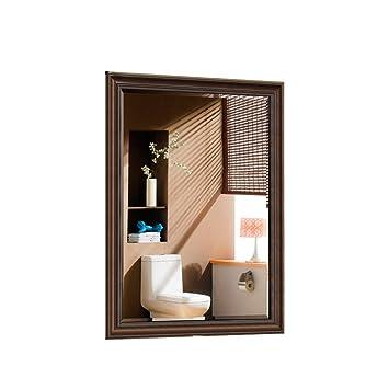 KONGZIH Regardant Le Mur Miroir Suspendu Décoration Intérieure Miroir  Chambre À Coucher Salon Porche Carré Dressing