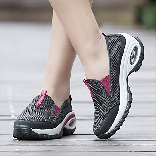 Trekking Tulle Bottom Spring Shoes Height Cushion A Shoes Women's Shoes Casual Increase Air Thick Shoes Summer New fBEqx68