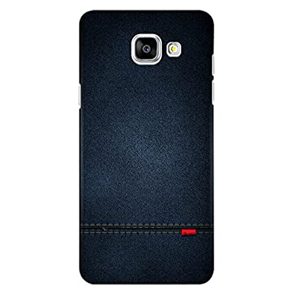 sneakers for cheap a5da1 65e94 CrazyInk 3D Back Cover for Samsung A5 2016 - Blue Leather Texture  CISA52016B059