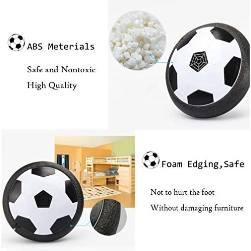 Cuker Air Power Soccer Ball Kids Toys Football Jeux En Mousse Souple Pare-chocs Coloré