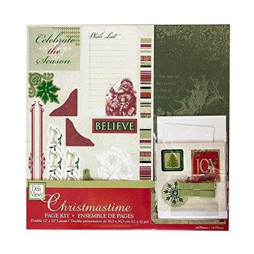 Deja Views Christmastime Scrapbook Page Kit