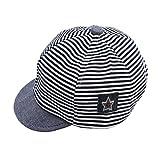 Lalang Newborn Baby Baseball Hat (Blue)