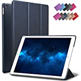 Best Rubber Cover For Apple IPads - New iPad 9.7 2017 Case, ROARTZ Metallic Navy Review