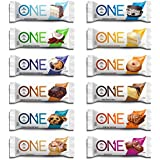 EINE Protein Bar, 12 Flavor Super Variety Pack, 12 Pack, Gluten-Free Protein Bars with High Protein (20g) and Low Sugar (1g), Guilt Free Snacking for Healthy Diets