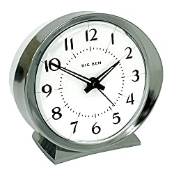 Westclox 10611QA Quartz Analog White Face Big Ben Alarm Clock
