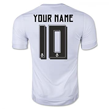 Adidas 2015 – 2016 Real Madrid UCL casa Camiseta de fútbol, Large 42-44&quot