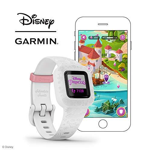 Fitness Tracker for Kids Disney Princess Up to 1-Year Battery Life Swim-Friendly Garmin vivofit jr 3