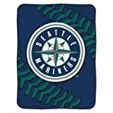MLB Seattle Mariners Plush Raschel 60x80 Throw