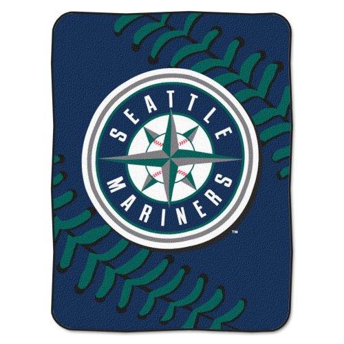 MLB Seattle Mariners Plush Raschel 60x80 ()
