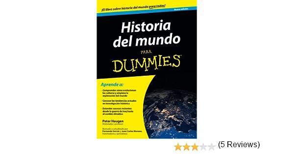 Historia del mundo para Dummies eBook: Haugen, Peter, Parramón ...