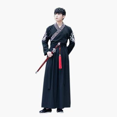 Susichou - Falda de Dos Piezas para Hombre, diseño de espadachín ...