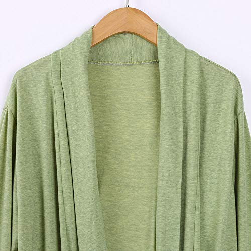 G-real Fall Winter Bouse for Women, Long Sleeve Kimono Cardigans Lace Cover up Loose Blouse Tops by G-real (Image #5)