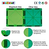Magblock 120 PCS Magnetic Blocks, Magnetic Tiles