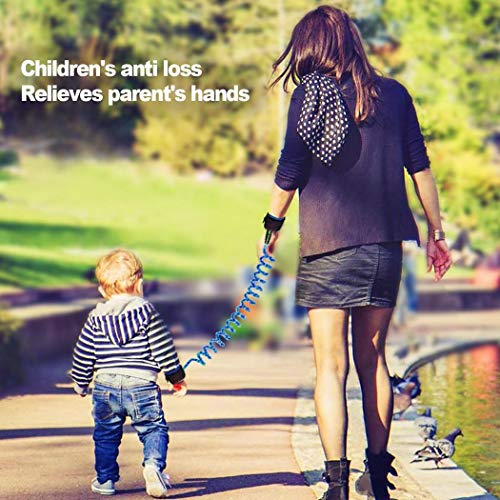 makalar Kids Baby Safety Anti-Lost Strap Walking Harness Wristbands Wrist Link Harnesses & Leashes