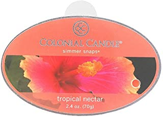 product image for Colonial Candle Simmer Snaps Wax Melt Tart Bar, Tropical Nectar 2.4oz