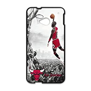 Happy Michael jordan caricature Phone Case for HTC One M7