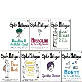 Spike Milligan Classic War Memoirs Collection 7 Books Set (Adolf Hitler my part in his Downfall, Rommel Gunner Who?, Monty His Part in my victory, Mussolini his part in my Downfall, Where have all the Bullets Gone?, Goodbye Solider, Peace Work)