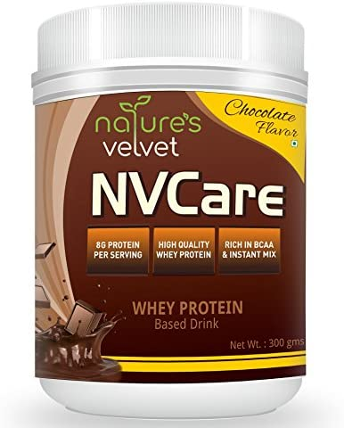 Natures Velvet Lifecare,NVCare whey protein based drink 300gms chocolate flavour