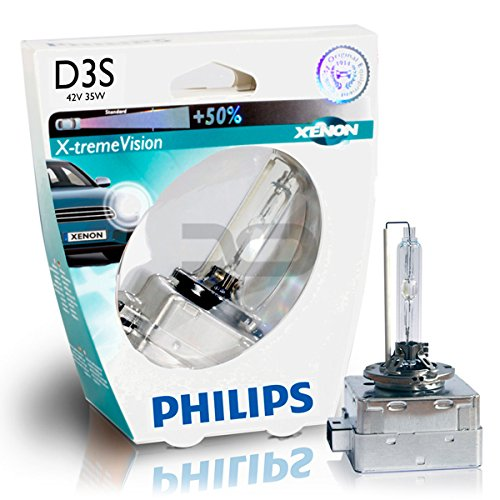 Philips X-treme Vision +130% Headlight Bulbs (Pack of 2)