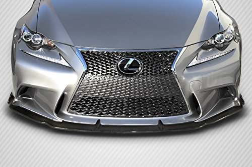 2014-2015 Lexus IS Series IS350 IS250 Carbon Creations AM Design Front Lip Spoiler - 1 Piece ( F Sport Models only) (Body Carbon Kits Creations)