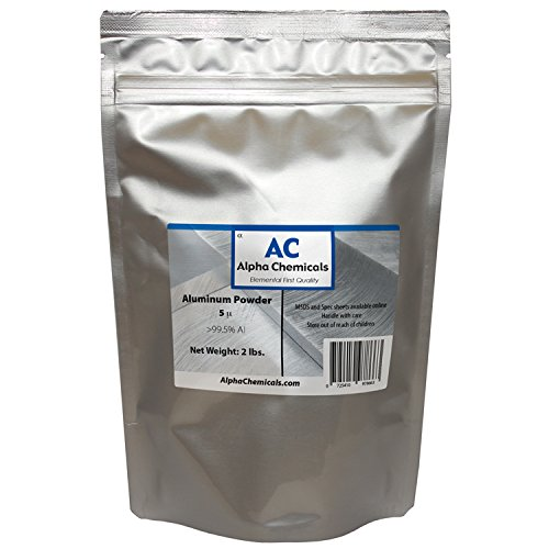 2 Pounds - Aluminum Powder - 5 micron