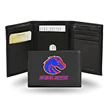 NCAA Rico Industries Embroidered Leather Trifold Wallet, Boise State Broncos