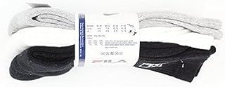 Fila Tennis Confezione da Calzini Classic in Tre Colori–Nero–Bianco–Grigio