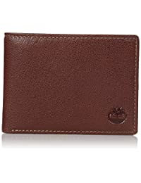 Timberland mens standard Genuine Leather Rfid Blocking Passcase Security Wallet