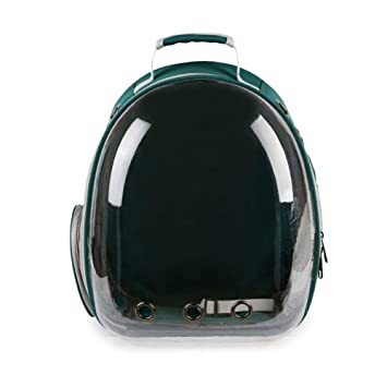 f29babe41bbc Amazon.com: QAQ Cat and Dog Portable Pet Backpack PC Space Bag ...