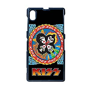 Custom Design With Band Kiss For One Sony Z1 Durable Phone Cases For Girly Choose Design 4