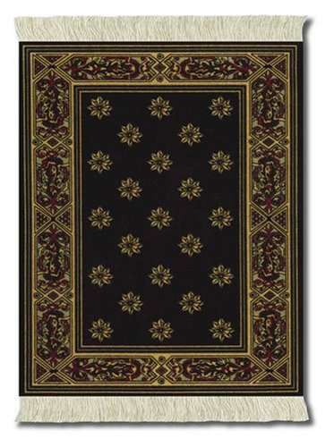 LextraÃ'® (Country Heritage Stars), MouseRugÃ'®, black and gold, 10.25 x 7.125, one by Lextra