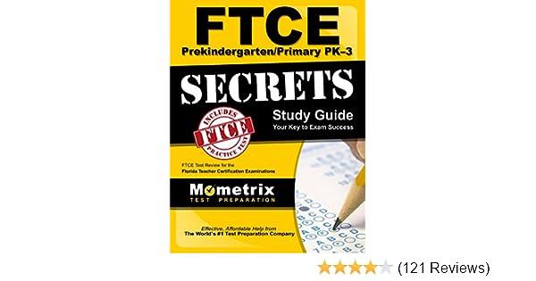 Ftce prekindergarten/primary pk-3 secrets study guide: ftce test revi….
