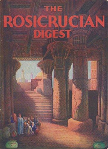 - The Rosicrucian Digest Magazine Volume XV #10 November 1937 God And Nature, Ancient Splendor, Self Destruction