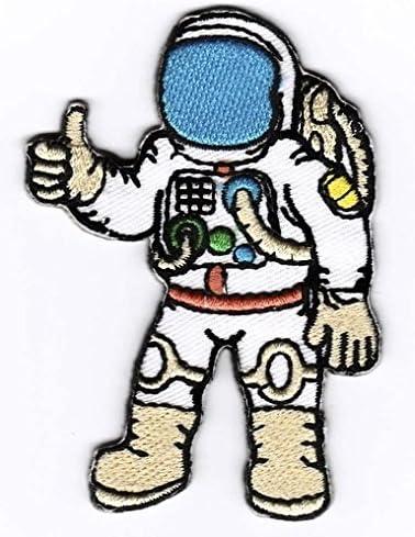 Iron on Patch B/ügelbild Astronaut Aufn/äher