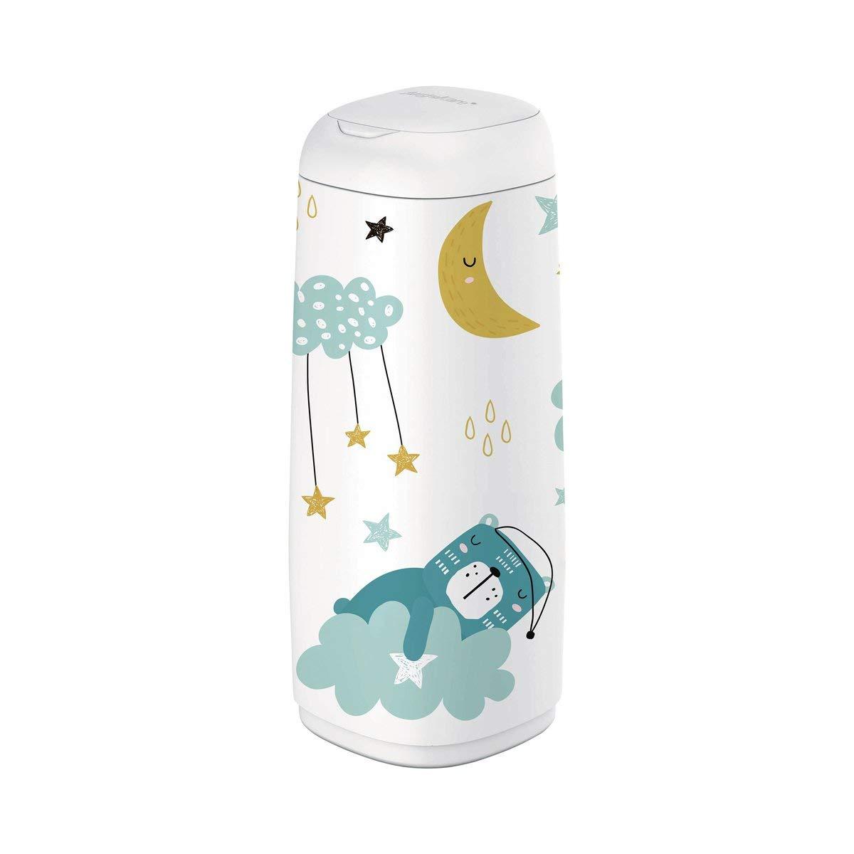 2385 Angelcare Bezug f/ür Dress-Up XL Windeleimer 66 cm H/öhe Sleepy Bear