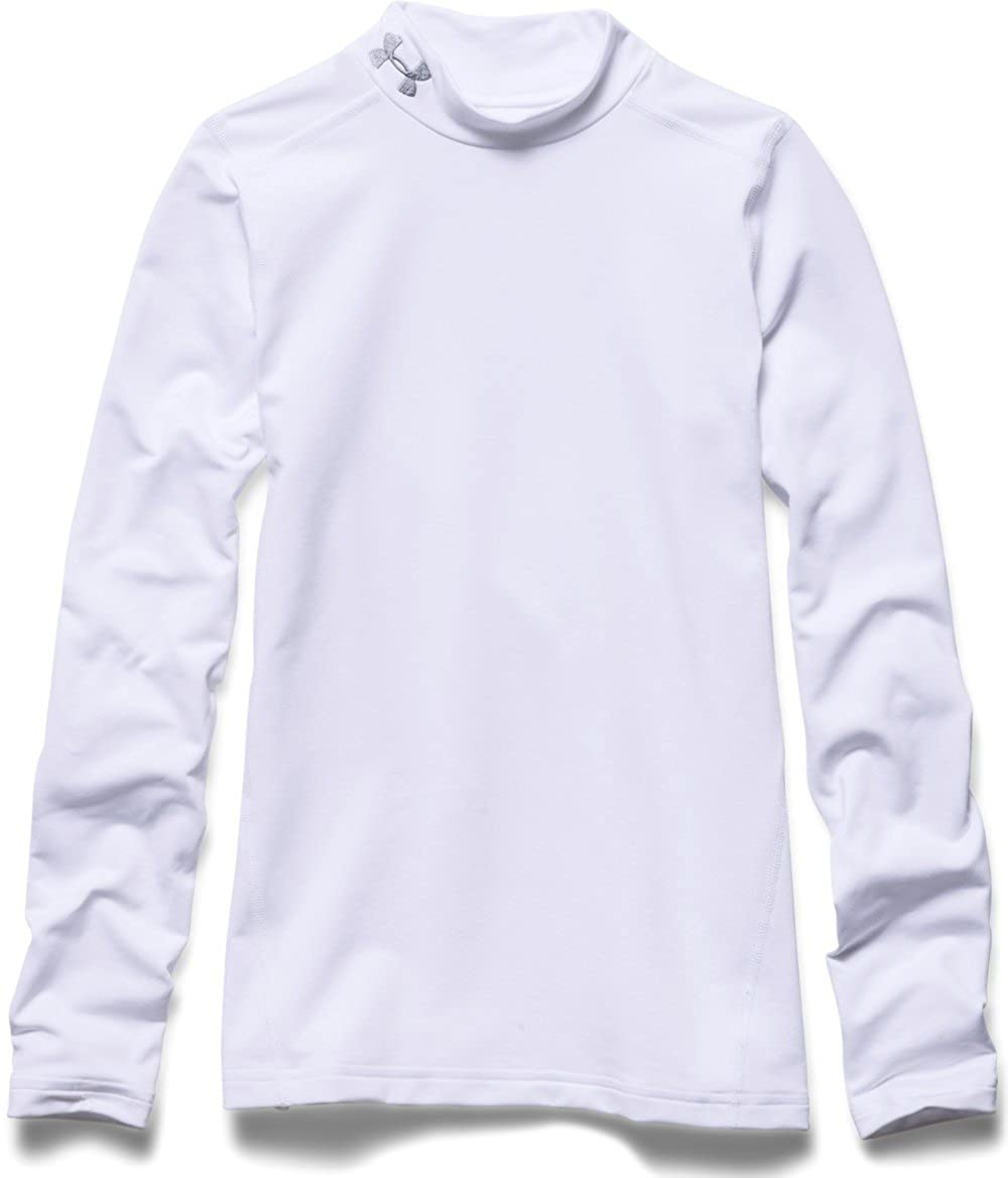 Under Armour Boys ColdGear Evo Fitted Long Sleeve Mock T-Shirt