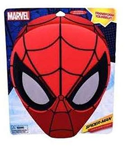 Marvel Spiderman Sunstache Sunglasses -