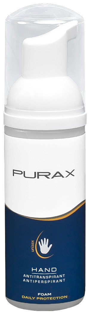 PURAX Hand Antiperspirant Foam, 50 ml 13800