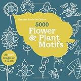 5000 Flower & Plant Motifs