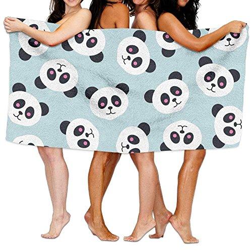 Bikofhd Women's Cottton Funny Panda Toss Pattern Design Bath Shower Wrap...
